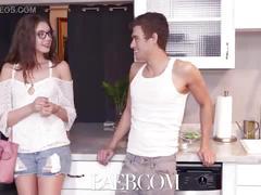 Baeb neighbor fucking his girlfriend makes elena koshka really wet