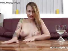 dildo, wet, masturbation, close-up, peeing, piss-drinking, watersports, sex-toys, solo-girl