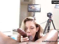 Amateur ass licking and deepthroating huge black cock