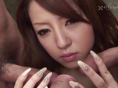 41ticket - miu aizaki's prison cell gangbang