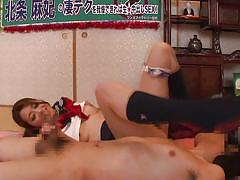 Hot schoolgirl babe lets her man explore her pussy