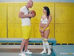 Locker room pounding hot brunette keisha grey