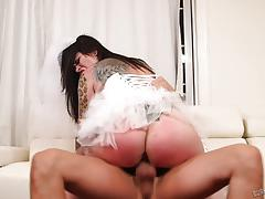 Juliana rose smashed in her pussy
