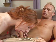Ass slamming redhead cutie madelyn rose