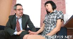 Babe is hungry for teachers cock movie feature 1