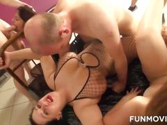 German amateur groupsex casting