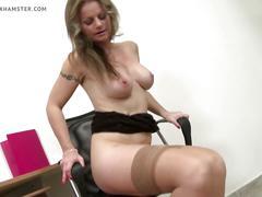 hd videos, milfs, matures, feeding, her pussy, mother, sexy, sexy mother, sexy pussy, table