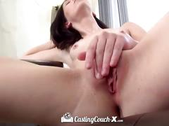 Castingcouch-x - hopefully hannah hartman can see after this facial