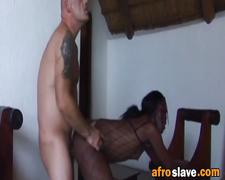 Interracial orgy on party after a safari