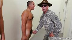 Army guys have to pass cock pulling test