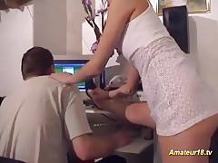 Sex with a flexible babe