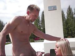 Between her fat juggs @ rocco sex analyst