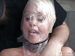 Blonde babe is pleased by her masters