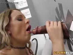 Anal slut kenzie taylor fucks black cock - gloryhole