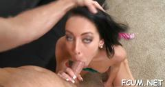 Babe gets her cunt pounded at last film video 1