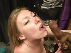 Tiny minge of petite tegan riley banged with bbc