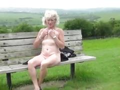 high heels, matures, outdoor, granny, outside, sexy, sexy granny, sexy heels