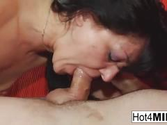 Russian milf gets fucked