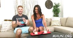 Horny milf jumps on a thick rod movie video 1