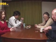 Japan family in law - daughter in law loved by your father in law ( very nice)