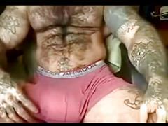 big, cock, man, hairy, monster, rubing