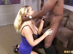 Britney young fucks mandingo's black cock