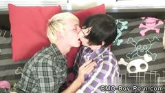 Gay emos bondage and boys sex shocking two of our fresh emo dudes beat the studio this
