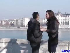 Bound mature euro gets cum on ass after sex