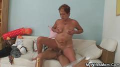 granny, mature, milf, big cock, blowjob, slut, sucking