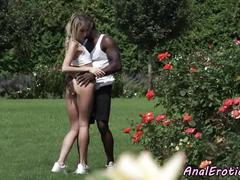 Anal loving eurobabe interracial fucked
