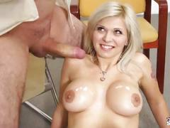Fakeshooting busty sexbomb enjoy fake casting in all possible ways