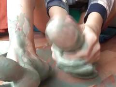 Camilla moon - my really dirty feet-talk and feetjob closeup!!!