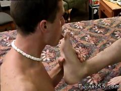 Masturbations boy cute xxx gay bathroom antics lead to foot fun