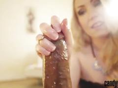 Candy may - enjoys a big black cock