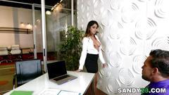 Sophia leone fucks her boss