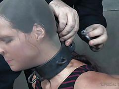 milf, big tits, slave, master, tied up, gagged, device bondage, nylon fetish, collared, infernal restraints, syren de mer