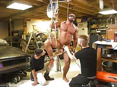 Extreme fun at the car service