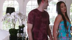 Davina davis in faking a pull out