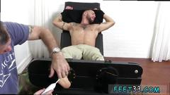 Gay twink toes xxx tino comes back for more tickle