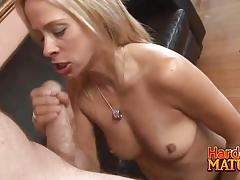 Cock sucking payton leigh deeply banged