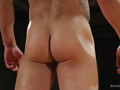 gays, wrestling, facesitting, rimjob, fighting, ass fingering, naked kombat, kink men, jordan boss, kaden alexander