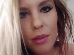 Horny blonde ellie conrad with angel voice and sexy eyes