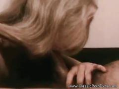 Horny classic porn film from the seventies