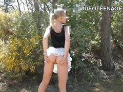 Real teen casting compilation