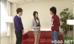 Asian schoolgirl finger fucking action clip movie 1