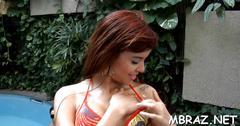Hot hammering of beauty from brazil clip clip 2