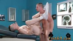 Men fisting mens ass and eating cum gay xxx alternating inbetween boinking axel with his