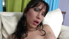 Two latina sluts want to have some fun in the living room