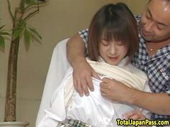 Bigtit japanese teen fucked in hairy pussy
