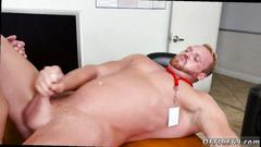 Straight cronys show off dicks together gay first day at work